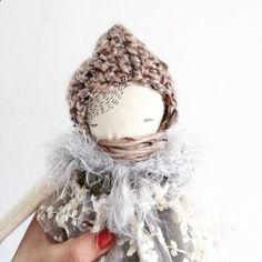 Puppa doll Fanna handmade cloth doll puppadolls by poppyandowl