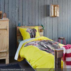 Neongelb mit Grau ist eine Kombination, die super funktioniert, da Grau neutral und cool ist, während Neongelb die Sinne erfrischt. Die gelbe Bettwäsche besitzt…
