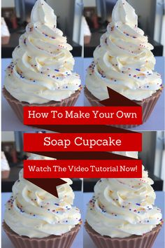 Lean how to make soap cupcakes with this cool video tutorial from the amazing DIYclub! Love my membership!