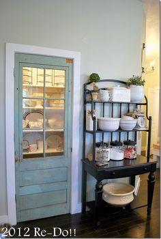 I want. . .no, wait, I NEED cool, painted doors.