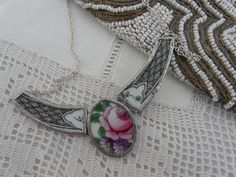 'itsAlchemy' Rose Collar Necklace made by Ruth Vintr.