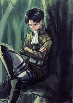 Tags: Anime, Shingeki no Kyojin, Rivaille, Pixiv Id 7433721