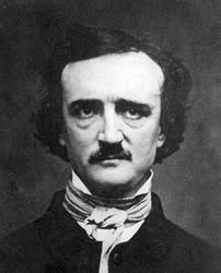 How did Edgar Allan Poe capture his readers attention in his writing?