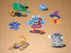 Dragon Quest (Warrior) perler bead monsters