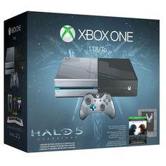 Microsoft Xbox One   Halo 5 - Guardians - Limited Edition.  Des attaques surprises lancées contre les colonies menacent la paix... mais le plus grand héros qu'ait connu l'humanité manque à l'appel. Il incombe à un nouveau Spartan de retrouver le Major et de résoudre un mystère qui met en péril l'avenir de toute la galaxie.