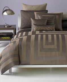 Hotel Collection Columns Bedding Collection - Duvet Covers - Bed & Bath - Macy's