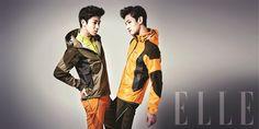 TVXQ - Elle Magazine March Issue '13