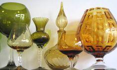 Vintage Art Glass Vases   Ideas For Glass Vases