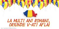 1 Decembrie La multi ani romani, oriunde v-ati afla! 1 Decembrie, Romania, Fii, Youtube, Orice, Crafts, Education, Countries, Food