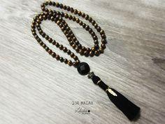 108 MALA NECKLACE mala beads tassel necklace prayer beads
