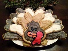Sugar Cookie Turkey Platter