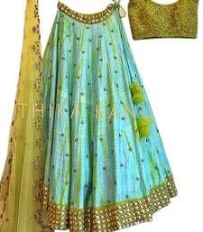 Embroidered Silk, Lehenga Choli, Ethnic, How To Wear, Design
