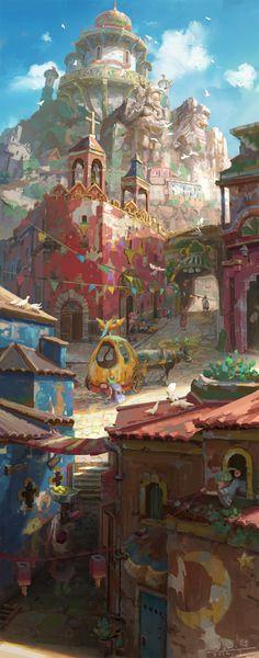 Kingdom-of-dream by arui001.deviantart.com on @deviantART