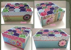 Box + toilet paper rolls