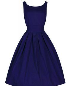 Round Neckline Ruffled Dress