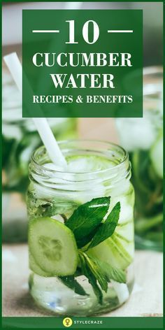 These Infused water recipes, enriched with the goodness of fruits, spices, and herbs, will get your attention and be immensely beneficial for you. Flavored Water Recipes, Cucumber Recipes, Fruit Recipes, Healthy Recipes, Drink Recipes, Flavored Waters, Infused Waters, Fruit Infused Water, Fruit Water