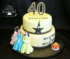Birthday Cake Hamilton Lin Manuel Miranda