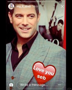 Such a lovely IG story I saved from a while ago from @my_il_divo  #sebsoloalbum #teamseb #sebdivo #sifcofficial #ildivofansforcharity #sebastien #izambard #wearefaculty #ildivoofficial #seb #singer #sebontour #musician #music #composer #producer #artist #instafollow #instamusic #french #handsome #amazingsinger #amazingmusic #amazingvoice #greatvoice #followsebdivo #eone_music #wecameheretolove #kingdomcome #sebastienizambard