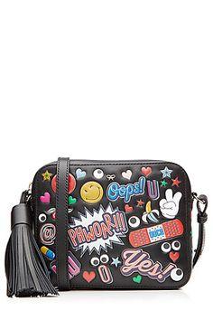 Anya Hindmarch stickers cross body bag Crossbody Shoulder Bag 28a714ead4ada