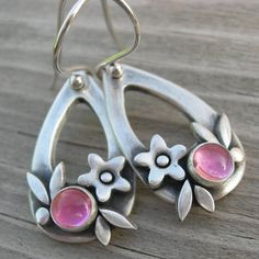 Summer Happiness Pink Tourmaline Sterling Silver by westbyron, $68.00