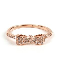 I found Rose Gold Mini Bow Ring on Wish, check it out!