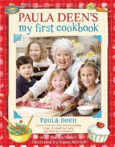 """Paula Deen's """"My First Cookbook"""" Children cookbook."""