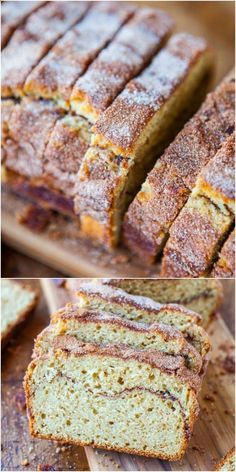 Cinnamon-Sugar Crust Cinnamon-Ribbon Bread - Even picky eaters who want the crust cut off will go nuts for this sweet, slightly crunchy crust. The interior is so soft  fluffy!