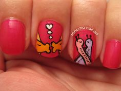 Sonoma Nail Art: Summer Lovin': Let's Do It inspired by the lyrics of the Cole Porter song