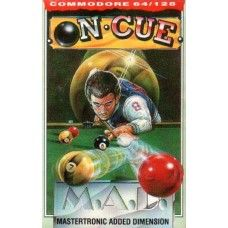 On Cue for Commodore 64 from M.A.D./Mastertronic Added Dimension