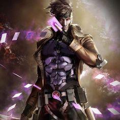 Gambit!!!! -- Follow my secondary page @comicquotesdaily!#ComicsOfficial by devilzsmile.com #devilzsmile