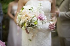 bouquet in one hand, wine in the other! | sonoma winery wedding on oh lovely day | photos by rebecca gosselin