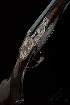 James Purdey 12 bore side by side. Think I kind of have to save some extra money for this one ;)