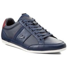 73f76e0f8d3ca2 Lacoste shoes Men Sneakers Trainers Lace Up Leather Top Lo Marcel Casual  Remix