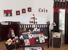 CHEAP DESIGNER JOJO DESIGN HORSE WESTERN THEMED COWBOY BABY BOY CRIB BEDDING SET in Baby, Nursery Bedding, Nursery Bedding Sets | eBay