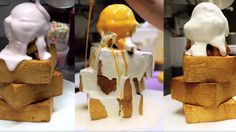 These Monstrous Honey Toasts are the Bread and Ice Cream Combo of Your Literal Dreams