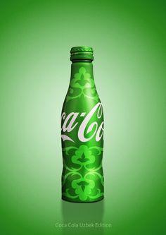 COCA-COLA ~ :: Coca-Cola Uzbek Edition by Brandbox Creative, via Behance
