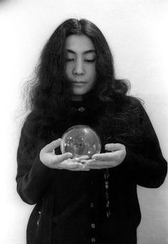 """""""Remember, each one of us has the power to change the world. Just start thinking peace, and the message will spread quicker than you think.""""   ~ Yoko Ono"""