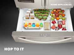 With easy access for kids, the Counter-Height FlexZone™ Drawer keeps your family's treats within a hop, skip, and a jump.