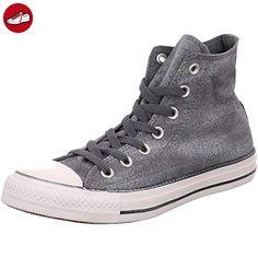 Converse Chuck Taylor All Star Femme Sparkle Wash Hi, Damen Sneaker , - -  Gris