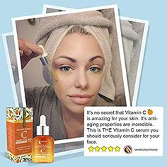 This Natural Anti-Aging Serum for Face helps rid you of dry, dull skin. The Vitamin C Serum for Face removes wrinkles, dark spots, discoloration and skin patches. It works to refresh your skin and leave it younger looking. #Natural_Anti_Aging_Serum_for_Face #Aging_Serum #Best_Serum_for face #Vitamin_C_Serum #Vitamin_E_Serum #Natural_Serum #Serum_for_All_Skin_Types #Anti_Aging_Serum ##Anti_Aging_Serum_for_face #Organic_facial_serum Saggy Eyes, What Causes Wrinkles, Best Hyaluronic Acid Serum, Best Face Serum, Natural Face Lift, Wrinkled Skin, Facial Serum, Dull Skin, Facial Treatment