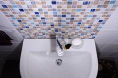Bumpy Gloss White/Blue Square White Bathroom Tiles, Kitchen Tiles, Wall Tiles, Blue Square, Tile Floor, Mosaic, Flooring, Home Decor, Room Tiles