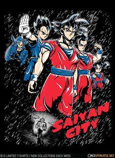 Saiyan City by Legendary Phoenix - Until 9/14