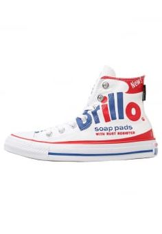 2b96477d5fd26 Converse - CHUCK TAYLOR ALL STAR - Sneakers basse - white red blue Hautes