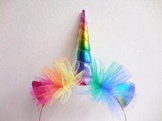 Hey, I found this really awesome Etsy listing at https://www.etsy.com/listing/385621162/rainbow-unicorn-headband-rainbow-unicorn