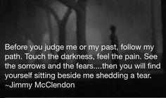 Before judging