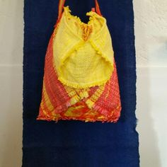 Gebraucht Upcycling art weavebag webtasche plasticrecy