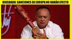 Diosdado Cabello Dice no Temer a Sanciones de Europa Noticias Ultima Hora Venezuela hoy 5 abril