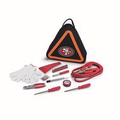 Football Fan Shop Picnic Time Roadside Emergency Kit - San Francisco 49ers