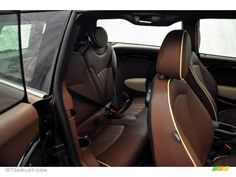Hot Chocolate Lounge Leather Interior 2011 Mini Cooper John Cooper Works Clubman Photo #54948118