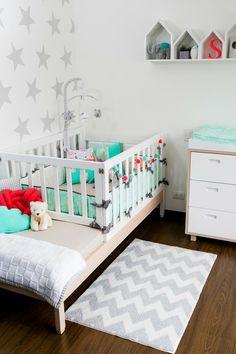 Aquí puedes encontrar fotos con ideas de diseño de interiores. ¡Inspírate! Baby Bedroom, Baby Room Decor, Nursery Room, Kids Room Design, Baby Cribs, Baby Accessories, Toddler Bed, Decoration, Furniture